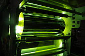 UV Coating on Plastic Film