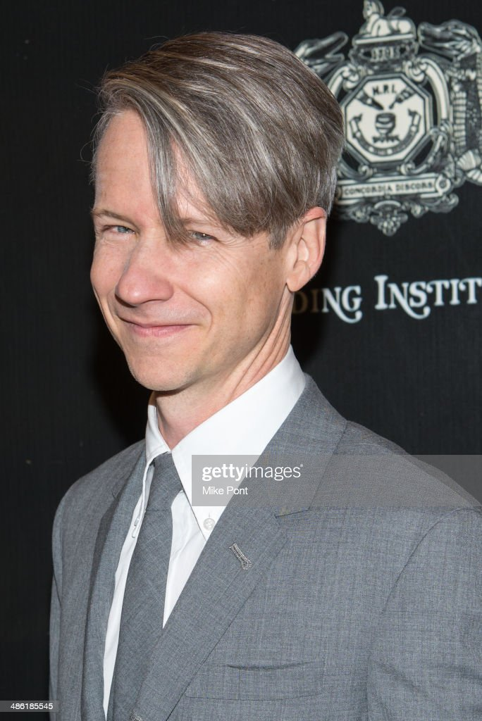 Co-author <a gi-track='captionPersonalityLinkClicked' href=/galleries/search?phrase=John+Cameron+Mitchell&family=editorial&specificpeople=207124 ng-click='$event.stopPropagation()'>John Cameron Mitchell</a> attends the Broadway opening night of 'Hedwig And The Angry Inch' at the Belasco Theatre on April 22, 2014 in New York City.