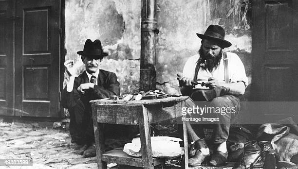 Cobbler Lemberg Ghetto USSR World War Two 19411944 Lemberg formerly part of Poland was captured by the Soviet Union in 1939 A ghetto was created in...