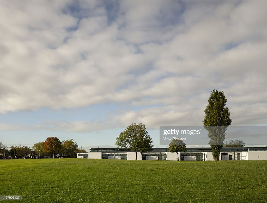 Cobblers Lane School, Pontefract, United Kingdom, Architect Walters And Cohen, 2007, Cobblers Lane School View From Fields.