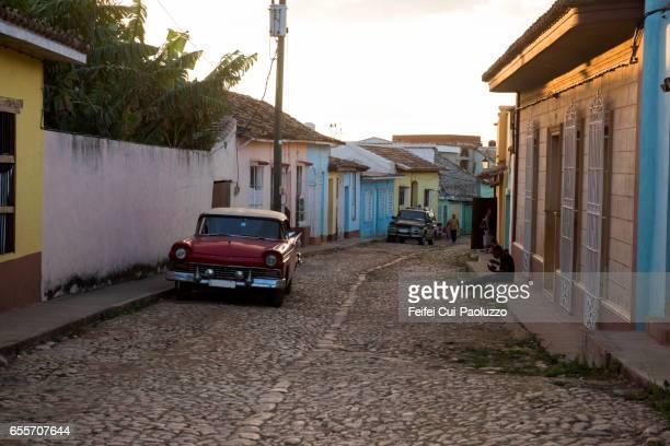 Cobbleston street of Trinidad in Sancti Spíritus Province, Cuba
