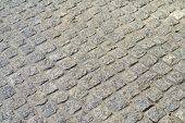 Cobblestone texture, geometry, traditional street pavement