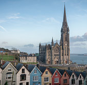 The Town of Cobh in County Cork, Ireland.