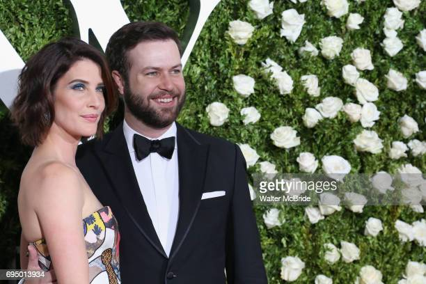 Cobie Smulders and Taran Killam attend the 71st Annual Tony Awards at Radio City Music Hall on June 11 2017 in New York City
