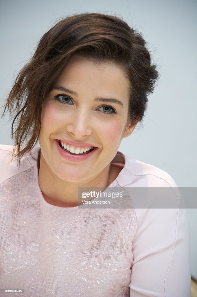 Cobie Smulders at the 'Delivery Man' Press Conference at the Four Seasons Hotel on November 1, 2013 in Beverly Hills City.