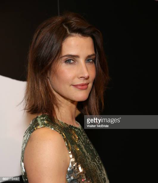 Cobie Smulders attends Broadway Opening Night After Party for 'Present Laughter' at Gotham Hall on April 5 2017 in New York City