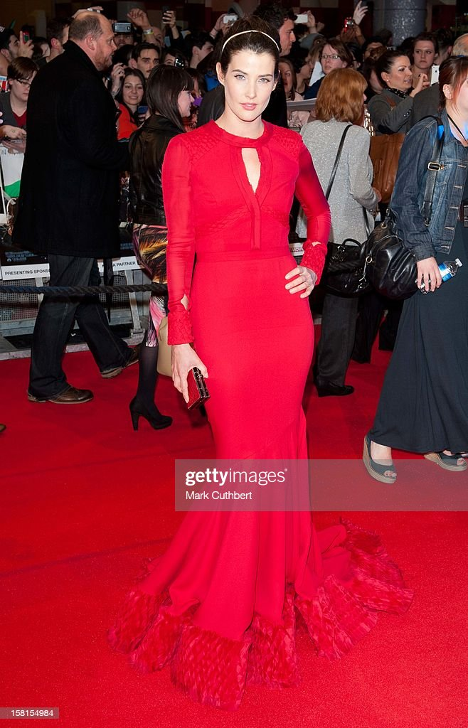 Cobie Smulders Attends Marvel Avengers Assemble European Premiere At Vue Westfield On April 19, 2012 In London.
