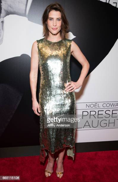Cobie Smulders attends 'Present Laughter' opening night party at Gotham Hall on April 5 2017 in New York City