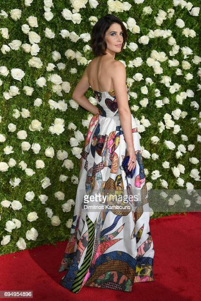 Cobie Smulders attends the 2017 Tony Awards at Radio City Music Hall on June 11 2017 in New York City