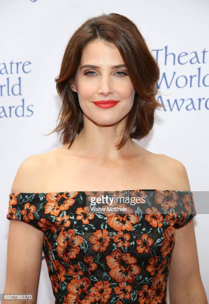 Cobie Smulders attends the 73rd Annual Theatre World Awards at The Imperial Theatre on June 5 2017 in New York City