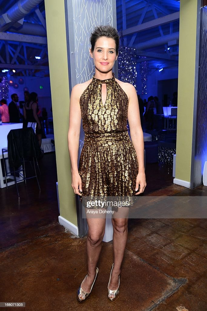 Cobie Smulders attends the 'Dancing For NED' benefit for the Cedars Sinai Women's Cancer Program on May 4, 2013 in Los Angeles, California.