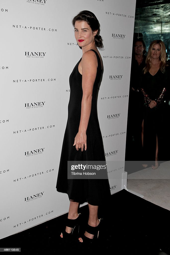 <a gi-track='captionPersonalityLinkClicked' href=/galleries/search?phrase=Cobie+Smulders&family=editorial&specificpeople=739940 ng-click='$event.stopPropagation()'>Cobie Smulders</a> attends the Haney Pret-A-Couture launch hosted by Net-A-Porter at mmhhmmm at The Standard, Hollywood on January 30, 2014 in West Hollywood, California.