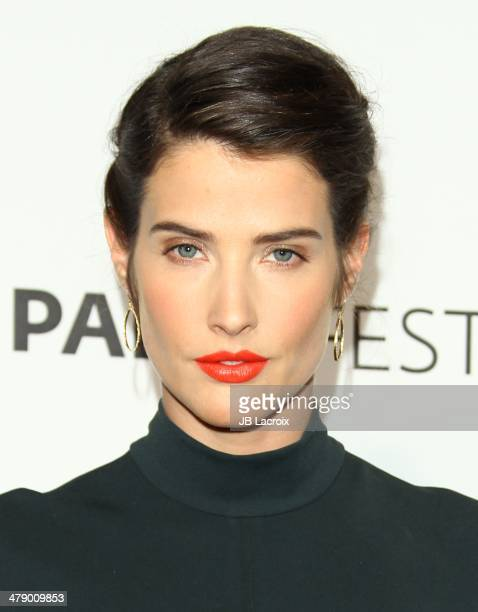 Cobie Smulders attends the 'How I Met Your Mother' Series Farewell held at Dolby Theatre on March 15 2014 in Hollywood California