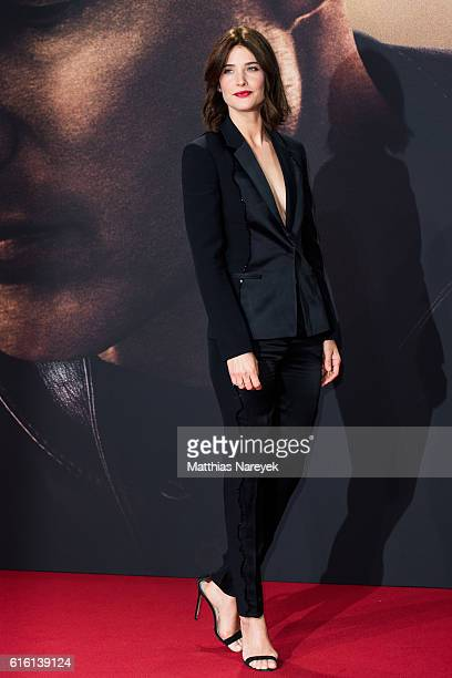 Cobie Smulders attends the 'Jack Reacher Never Go Back' Berlin Premiere at CineStar Sony Center on October 21 2016 in Berlin Germany