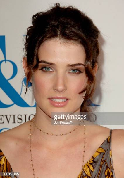 Cobie Smulders during The Museum of Television Radio Honors Leslie Moonves and Jerry Bruckheimer Arrivals at Beverly Wilshire Hotel in Beverly Hills...