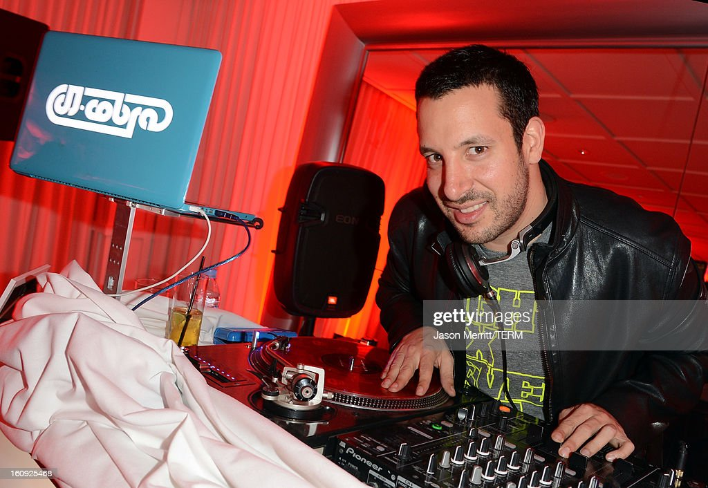 DJ Cobra spins tunes at Quattro Volte Vodka Preview with Taio Cruz at SLS Hotel on February 7, 2013 in Beverly Hills, California.