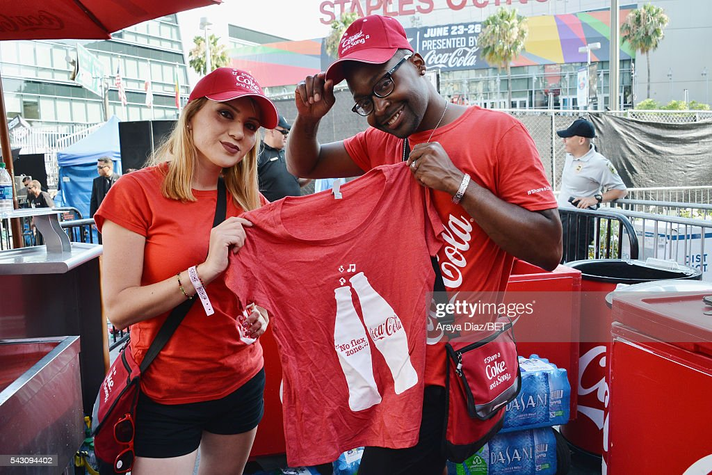 Coca-Cola is served at 106 & Park Sponsored by Coca-Cola during the 2016 BET Experience on June 25, 2016 in Los Angeles, California.