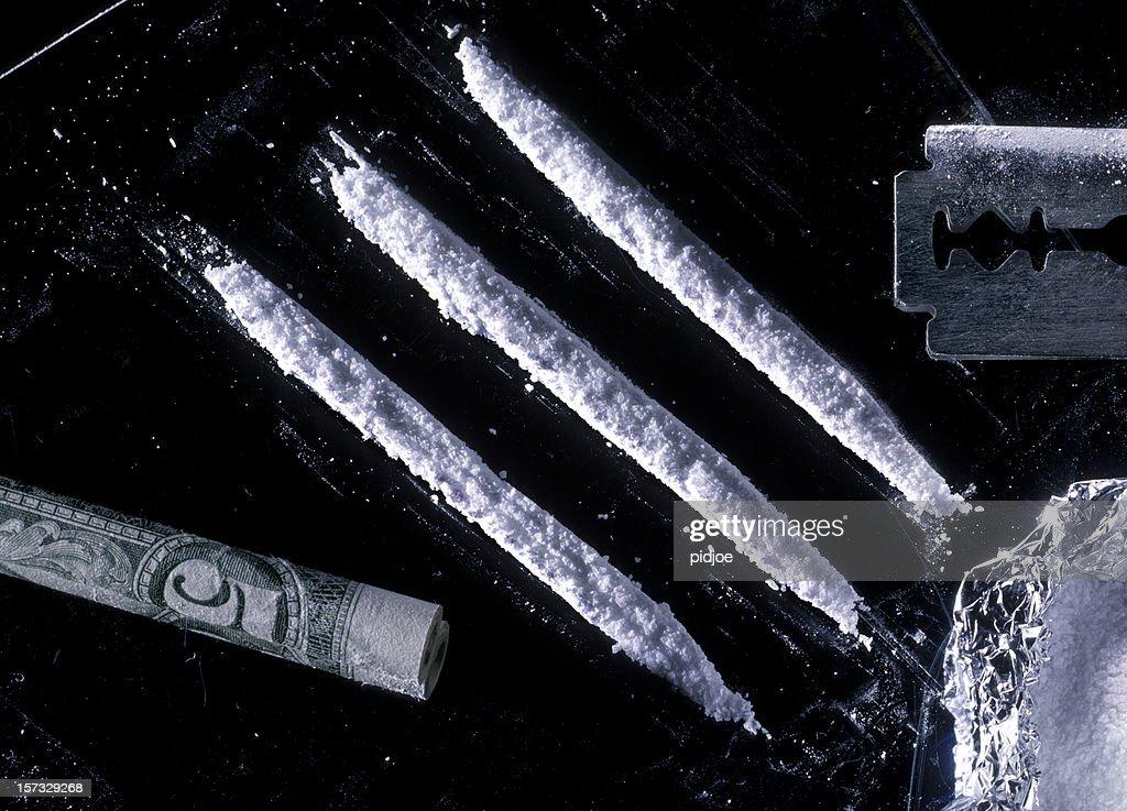 cocaine : Stock Photo