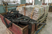 Representation of an illegal drug warehouse