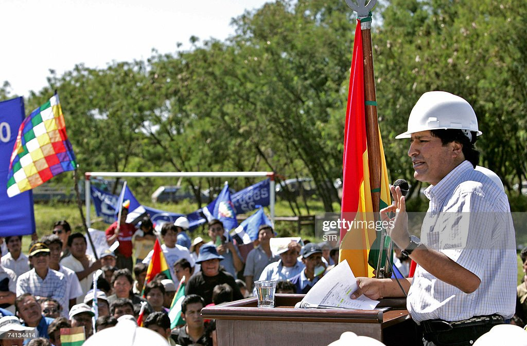 Evo Morales | Getty Images