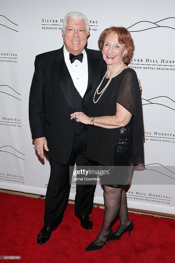 Co-chair Dennis Basso and Inez Weinstein attend the 2013 Silver Hospital gala at Cipriani 42nd Street on November 20, 2013 in New York City.