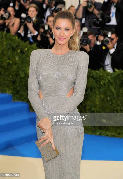 Cochair Gisele Bundchen attend the 'Rei Kawakubo/Comme des Garcons Art Of The InBetween' Costume Institute Gala at Metropolitan Museum of Art on May...