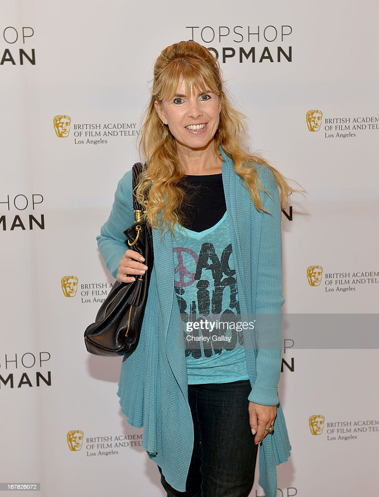 BAFTA co-chair <a gi-track='captionPersonalityLinkClicked' href=/galleries/search?phrase=Julia+Verdin&family=editorial&specificpeople=240232 ng-click='$event.stopPropagation()'>Julia Verdin</a> attends BAFTA Los Angeles and Sir Philip Green Celebrate the British New Wave at Topshop Topman at The Grove on April 30, 2013 in Los Angeles, California.