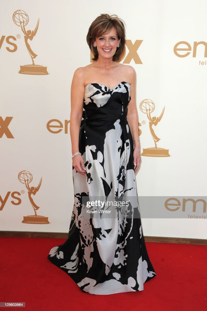 Co-Chairman, Disney Media Networks and President, Disney/ABC Television Group Anne Sweeney arrives at the 63rd Annual Primetime Emmy Awards held at Nokia Theatre L.A. LIVE on September 18, 2011 in Los Angeles, California.