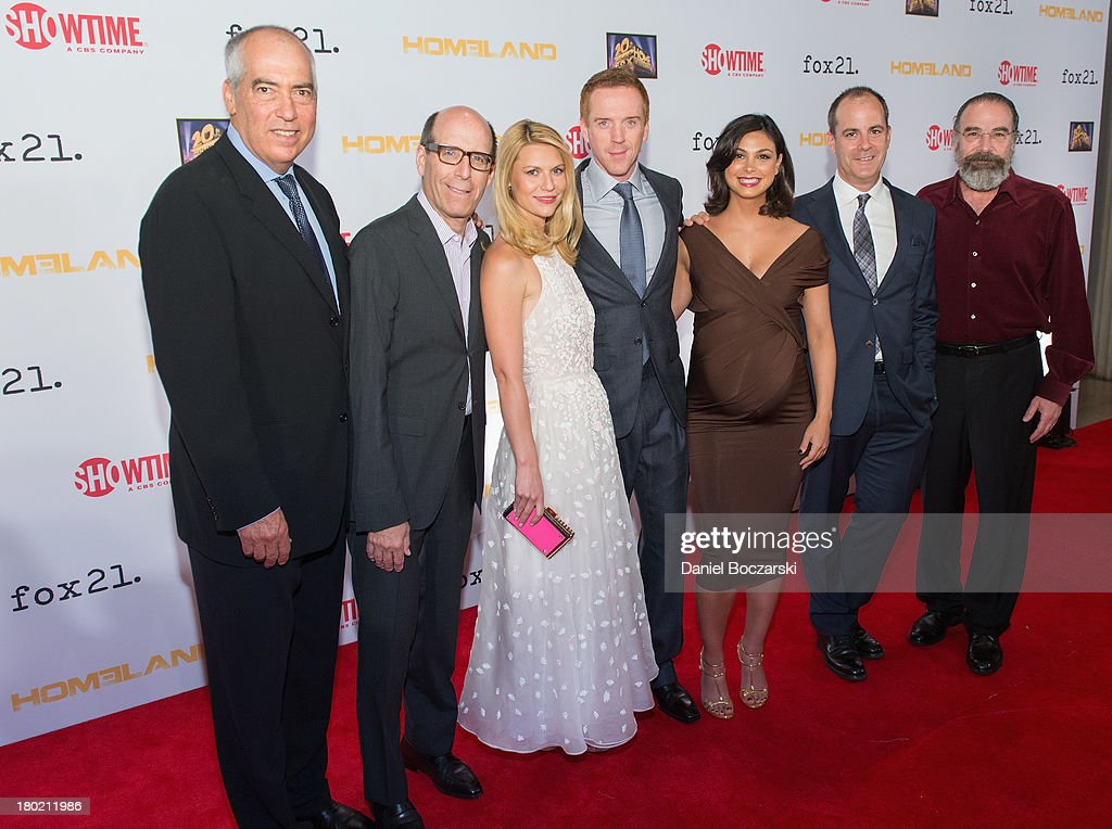 CoChairman of Fox 20th TV Gary Newman CEO Chairman of Showtime Networks Matthew C Blank Claire Danes Damian Lewis Morena Baccarin President of...