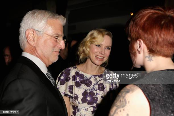 CoChairman of Lionsgate Motion Picture Group Rob Friedman and actress Naomi Watts attend 'The Impossible' Premiere Reception presented by Grey Goose...