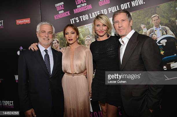 CoChairman of Lionsgate Rob Friedman actresses Jennifer Lopez and Cameron Diaz and Lionsgate CoChairman and Chief Executive Officer Jon Feltheimer...