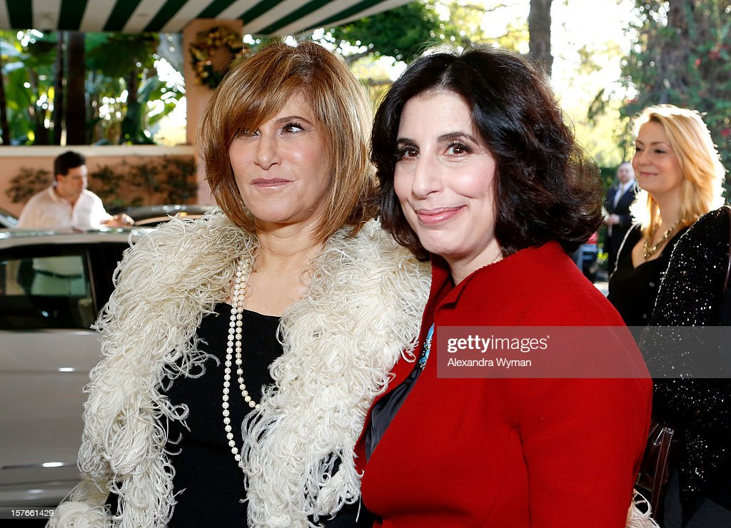 Co-Chairman of Sony Pictures Amy Pascal and Warner Bros. Pictures Worldwide Marketing President Sue Kroll attend The Hollywood Reporter's 'Power 100: Women In Entertainment' Breakfast at the Beverly Hills Hotel on December 5, 2012 in Beverly Hills, California.