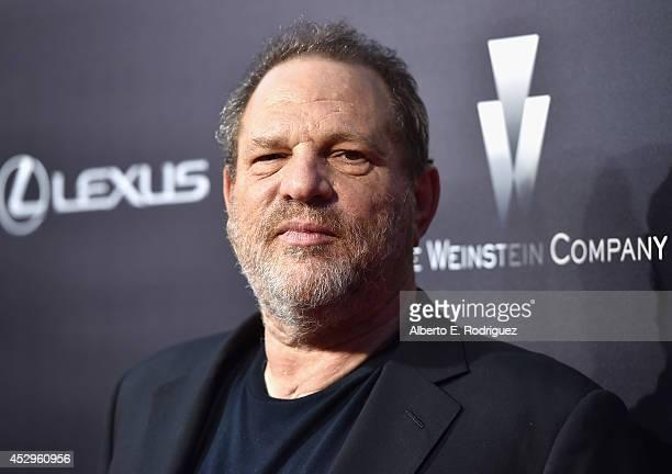 Cochairman of The Weinstein Co Harvey Weinstein arrives to The Weinstein Company and Lexus Present Lexus Short Films at The Regal Cinemas LA Live on...