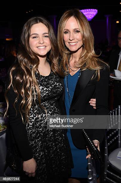 CoChairman/CEO Fox Television Group 20th Century Fox Television FOX Broadcasting Company Dana Walden and daugther Aliza Walden attend the Family...