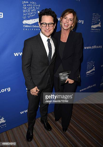 CoChairs JJ Abrams and Katie McGrath attend Children's Defense FundCalifornia 25th Annual Beat The Odds Awards at Regent Beverly Wilshire Hotel on...