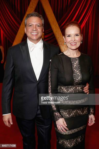 PGA cochairs Michael De Luca and Jennifer Todd attends the 89th Annual Academy Awards at Hollywood Highland Center on February 26 2017 in Hollywood...