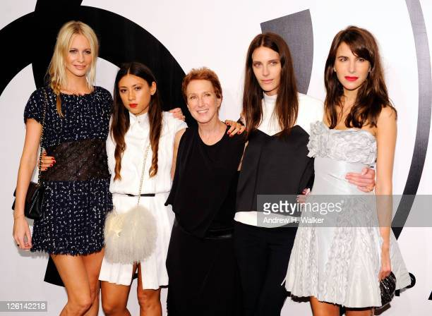 RXART CoChairs Poppy Delevingne Jen Brill RXART Founder Diane Brown RXART CoChairs Vanessa Traina and Caroline Sieber attend the annual RxART PARTY...