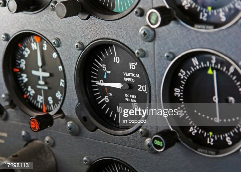 Cockpit of a Diamond Star Airplane