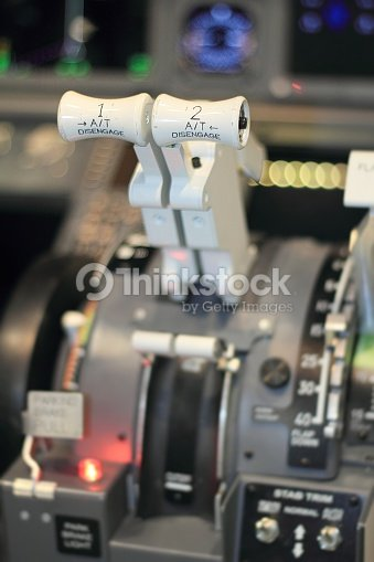 Cockpit Of An Homemade Flight Simulator Stock Photo | Thinkstock