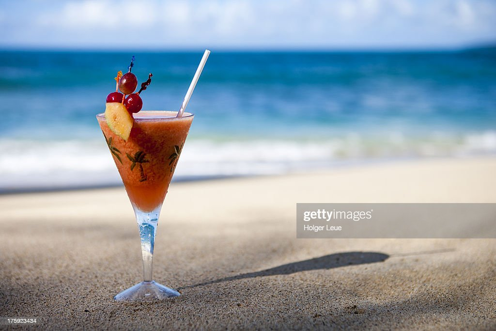 Cocktail at beach