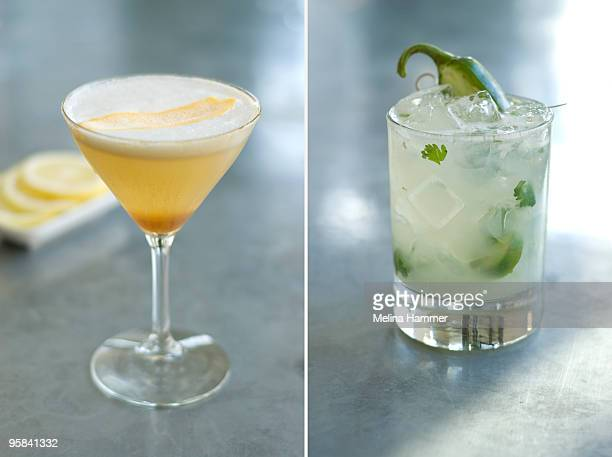 Cocktail diptych