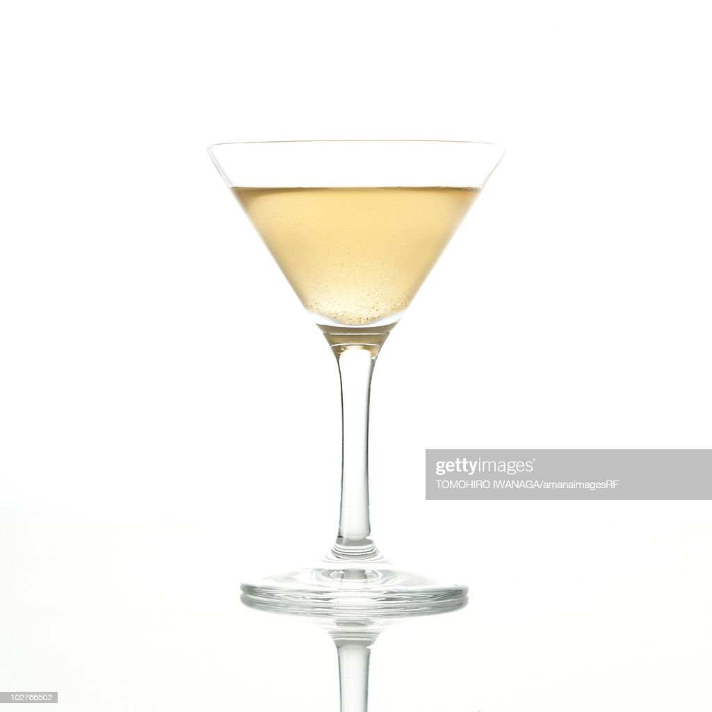 Cocktail in a martini glass