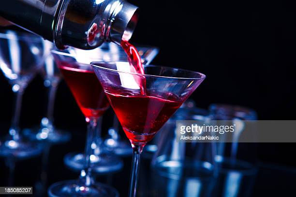 Cocktail im Nachtclub