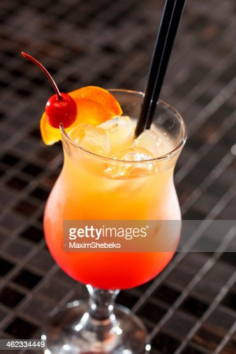 cocktail in the bar : Stock Photo