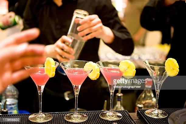 Cocktail-Zubereitung