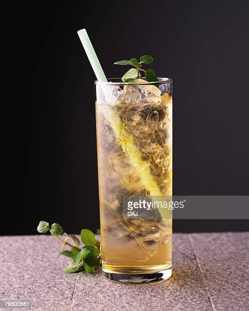 Cocktail, Mint Julep, Front View