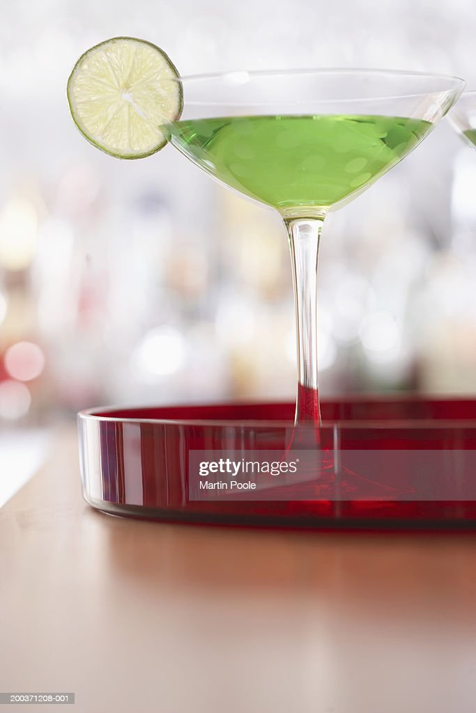 Cocktail on bar : Stock Photo