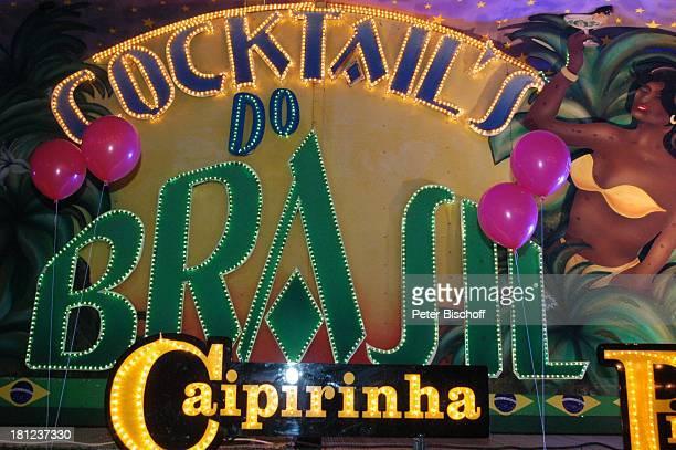 CocktailBar Brasilien Caipirinha Bremen Freimarkt PNr 1268/04 MZ