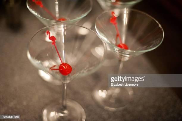 Cocktails being prepared