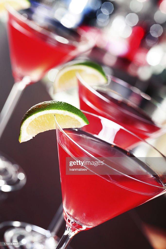 Cocktails collection - Cosmopolitan : Stock Photo